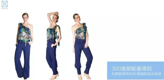 为顾客提供时尚/高端的试衣体验